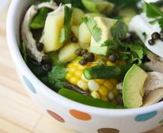 I had this soup in Atlanta, made by my friend Jen. Iam gonna attempt it. Colombian Dishes, Colombian Recipes, Colombian Food, Chicken Avocado Soup, Chicken Soup Recipes, Stewed Potatoes, Good Food, Yummy Food, Cali Colombia