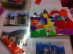 Reggio Emilia Inspired Learning: Castle Collages