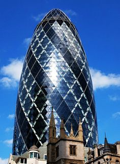 Unusual Houses of the World - Gherkin Building