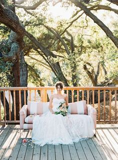 Romantic, blush wedd