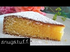 YouTube Cornbread, Vanilla Cake, Ethnic Recipes, Youtube, Desserts, Food, Powdered Sugar, Yummy Cakes, Bakken