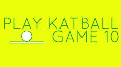 Play Katball: Game Ten! http://www.katball.com/playgameten Colors featured #yellow #green #game