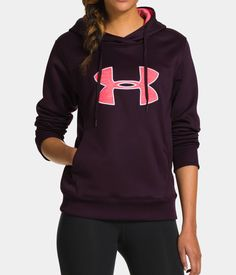 Women's UA Storm Armour® Fleece Big Logo Hoodie | Under Armour US M/L