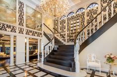 Such a grand staircase #sothebys #propertyporn #stairs