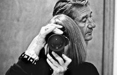 Autorretrato de June Newton y Helmut Newton.