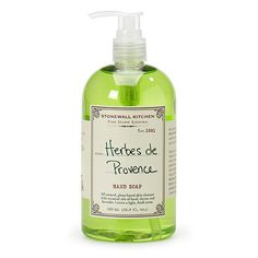 The air in the French countryside is filled with the lovely scents of lavender and herbs growing wild in the fields. We've captured this timeless aroma in our all natural, Herbs de Provence Fine Home
