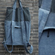 New fashion mixed color backpack&shoulder bag(linen material)