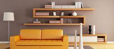 Designové police vyniknout v obývacím pokoji, ale i v ložnici.