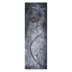 Dragonfly Assembly Metal Wall Art - 8W x 23.5H in. - MAD00101