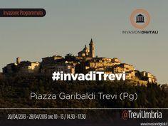 #InvasioniDigitali  Dal 20 al 28 aprile ore 10 - 13 / 14.30 - 17.30 Invasore: TreviUmbria