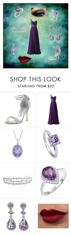 """""""Mads Formal"""" by nymph337 on Polyvore featuring Manolo Blahnik, BERRICLE, Bling Jewelry, H.Azeem and NOVICA"""