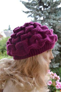 Women's Hat Winter Women Hat Slouchy Beanie Slouchy by DosiakStyle ♡ ♡