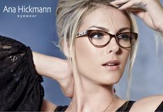 Ana Hickmann! #Eyewear #glasses #womensfashion Facebook: OpticalHouse Twitter: @OpticalHouseGen Instagram: @OpticalHouseGen
