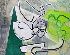 Pamela Staker - Green Triangle | Artwork Archive