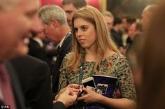 The pair's daughter, Princess Beatrice, 27, also conversed with participants and guests