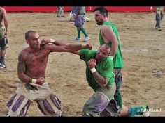 THE MOST BRUTAL SPORT EVER -   Calcio Storico - YouTube