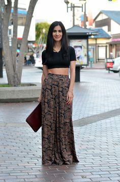 vintage palazzo pants  how to wear palazzo pants