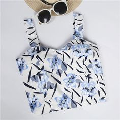 Short Paragraph Wrapped Chest Vest Crop Top 2017 New Printing Bustier Crop Top Summer Style Fitness Women's Tanks Strappy Bra
