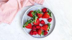 Récapitulatif de Candice: recettes à base de fraises Superfood, High Fiber Foods, Sorbets, Strawberry, Cheesecake, Healthy Recipes, Fruit, Desserts, Vanilla