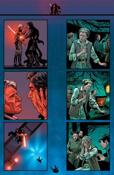 "HEY. WOAH. HEY. Who said this was okay?(fandom-menace: ""The death of Han Solo "")"