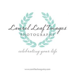 Photography Branding Package / Custom Logo, Business Card, DVD Label and Watermark by Camille Chung on Etsy. $320.00, via Etsy.