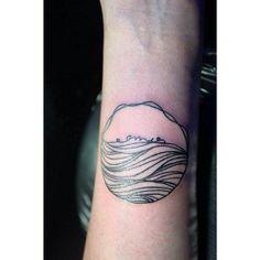 Minimalist Tattoo Logo Design, Graphic Design, I Tattoo, Tatting, Body Art, Piercings, Minimalist, Break Free, Tattoos