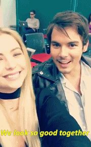 "tyshleys: "" ""Ashley Benson and Tyler Blackburn on Snapchat 15/3/2016 "" """