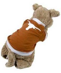 Longhorn Pet T-Shirt  #cute #puppy #kitten #hookem