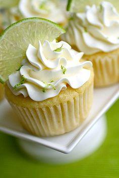 Margarita cupcakes. For the fiesta!
