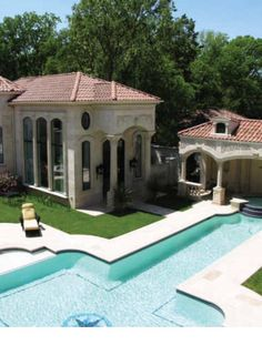 Poolhouse grandeur.  - 'Live The Good Life - All about Luxury Lifestyle