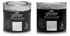 Shop for Wilko Silver Glitter Interior Wood and Metal Paint at wilko - where we offer a range of home and leisure goods at great prices. Glitter Paint Silver, Glitter Paint For Walls, Glitter Bedroom, Blue Gray Paint, Stationery Craft, Skirting Boards, Out Of My Mind, Diy Crystals, Home Automation