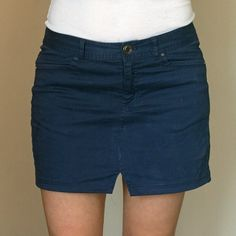 Turn a pair of pants into a cute skirt for summer. Easy sewing tutorial!