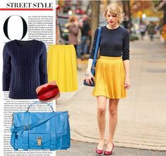"""Taylor Swift: Street Style"" by tasyaxo on Polyvore"