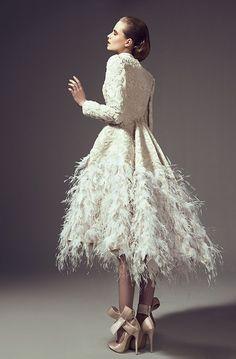 Wedding Gown Inspiration | Ashi Studio Fall | Winter 2014 Couture #weddinggown #weddingdress