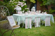 Vintage Tea Birthday Party Ideas | Photo 8 of 20 | Catch My Party