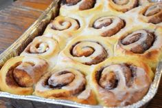The Best and Easiest Cinnamon Rolls Ever: Cinnamon Rolls