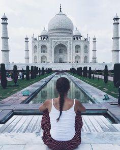 by @olgarios #mytajmemory #IncredibleIndia #tajmahal El mayor acto de amor.