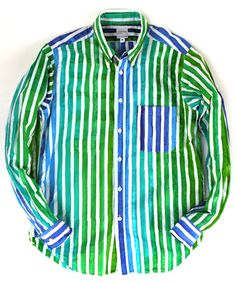 NEPENTHES [2012S/S]  Loop Back Shirt.  You too can look like you just walked out of an expressionist painting.