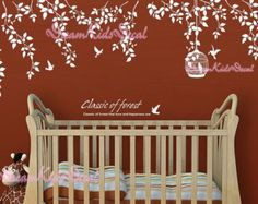 Wall Decal tree wall decal nursery wall decal by DreamKidsDecal