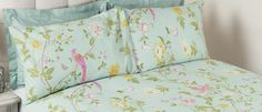 SUMMER PALACE DUCK EGG COTTON BEDSET