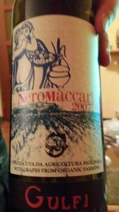 Che vino spettacolare! Siamo nell'olimpo del nero d'avola.