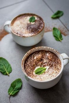 Vegan Peppermint Hot Chocolate that is JUST as good as the original dairy version! Crank up your winter with this luxurious and quick hot drink!