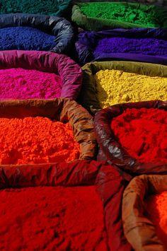 Coloured Powders ~beautiful