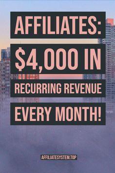 Earn Money Fast, Earn Money From Home, Earn Money Online, Make Money Blogging, How To Make Money, Earning Money, Money Tips, Affiliate Marketing Jobs, Marketing Program