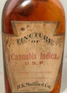 Vintage Medicinal Cannabis