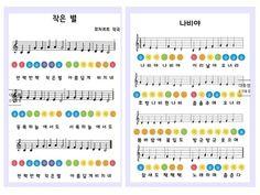 음률영역 핸드벨 악보 : 네이버 블로그 Diy Art, Periodic Table, Bullet Journal, Teacher, Education, Blog, Crafts, Korean Language, Languages