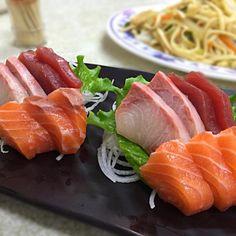 レシピとお料理がひらめくSnapDish - 3件のもぐもぐ - 綜合生魚片 by Kunihiko