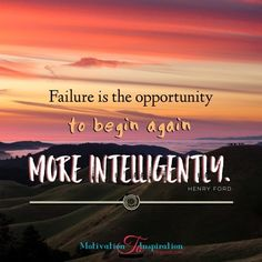 Failure is never easy. We can choose to let it make the best of us and quit or we can rise above it and use it as a tool to improve. Failure...
