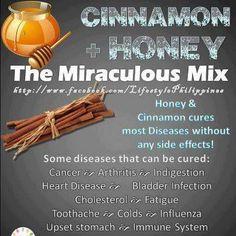 Health Benefits of Cinnamon & Honey