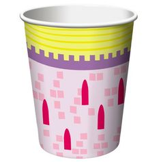 Castle Fun Party Cups.  Princess or Castle party time? You'll love these on your party table!  Our hot/cold cups can hold any type of drink.  8 cups; 266ml